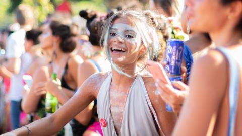 Machiaj de festival - wolfpick