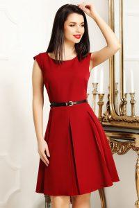 rochie rosie 2
