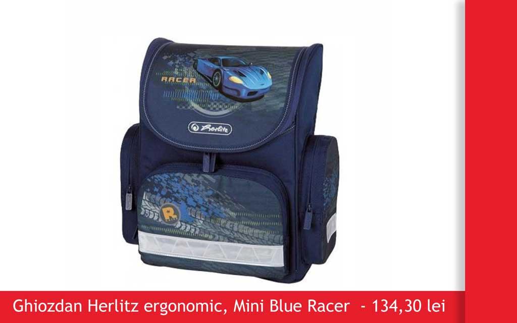 ghiozdan herlitz mini blue rider