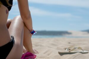 parfum la plaja